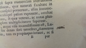 Gallileo Galilei allegedly hand fixed a typo in the first edition of Starry Messenger (1610).