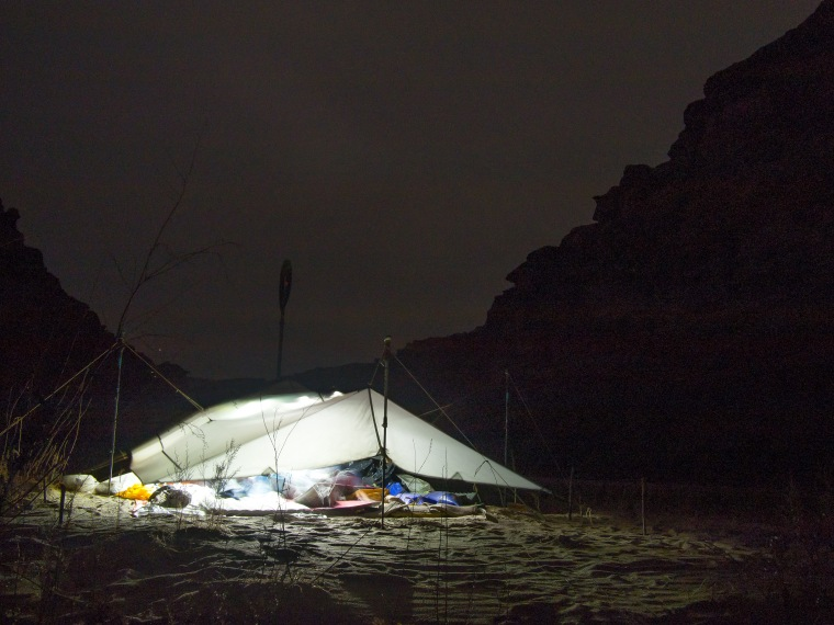 A night camped on the Green River means pooping in bags and packing it out. Do you have what it takes?